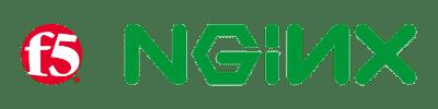 F5 och NGINX Färg logos