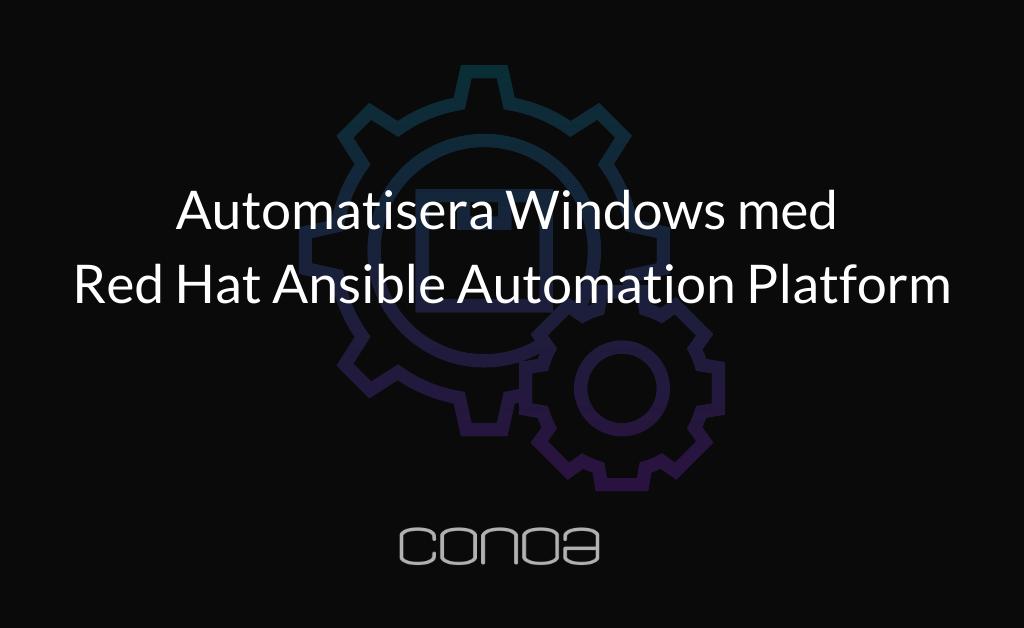 Windows med Ansible