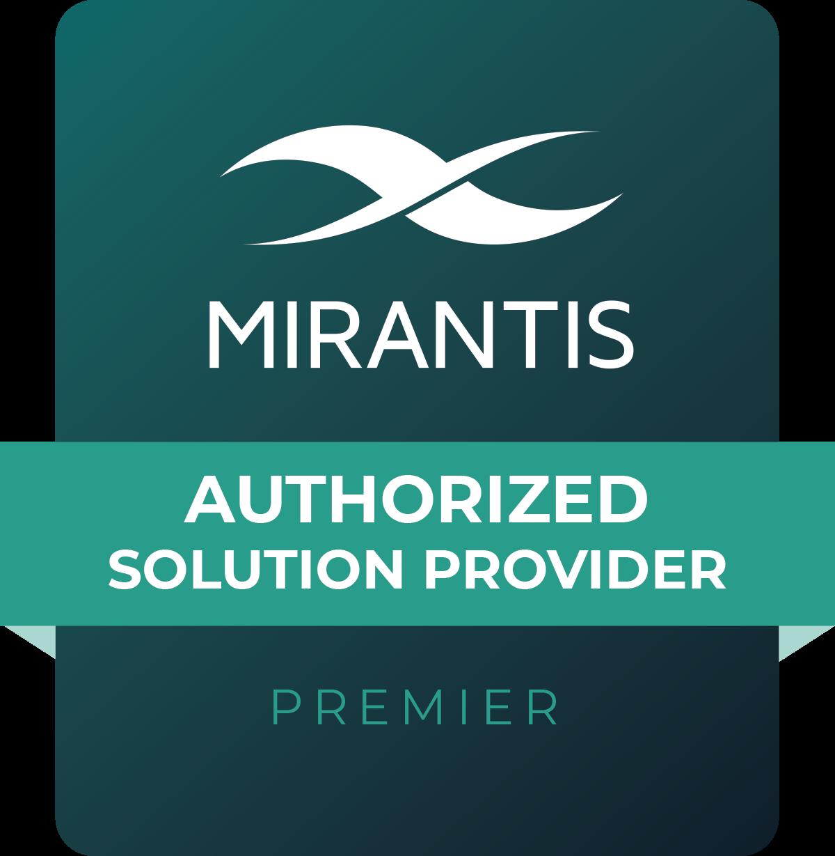 Mirantis Premier partner logo