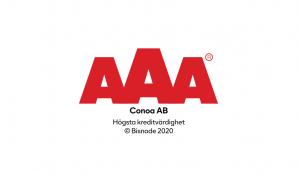 Conoa högsta kreditbetyg