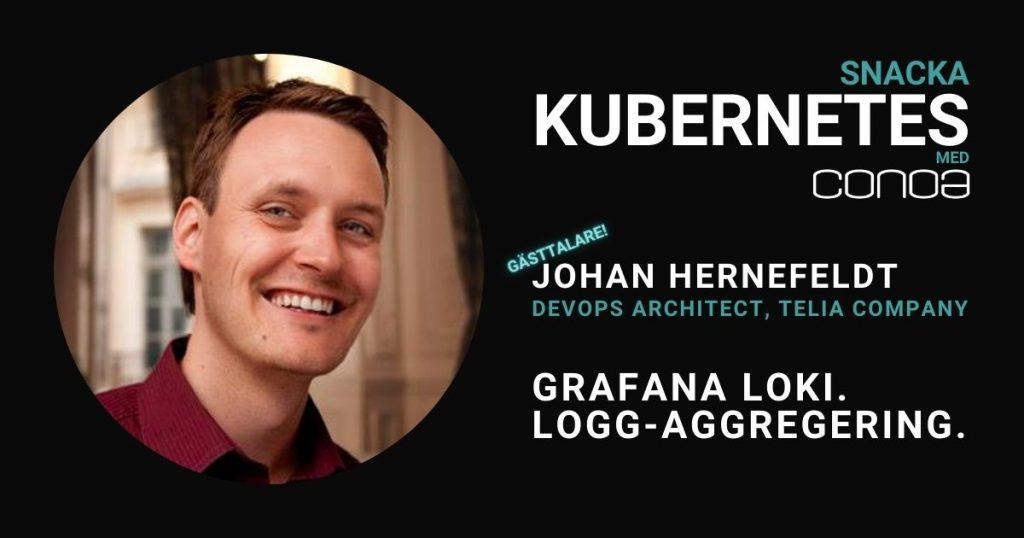 Grafana Loki Johan Hernefeldt Telia Blogg