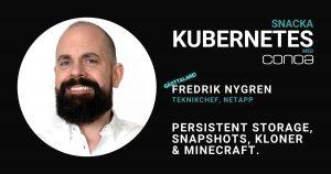 Persistent Storage Fredrik Nygren NetApp Blogg Bild